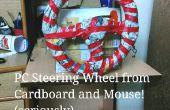 PC-volant et pédales - à l'aide de gaz seul carton et une souris