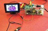 Journal Raspberry Pi avec moniteur de voiture