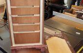 18ème siècle Spice Cabinet de 21ème siècle du bois