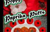 Coquelicot Paprika bouffées
