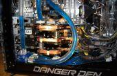 Danger Den / refroidi à l'eau de Tri SLI de Nvidia PC Gaming