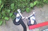 La construction d'un coupleur de remorque vélo flexible forte.