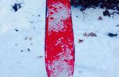 Snowboard/Snowskate d'un Deck de Skateboard