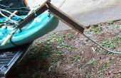 S'asseoir sur système de pédale de Kayak