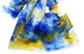 Saupoudrer de teinture de tissu