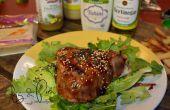 Poêlé, salade de thon à nageoires jaunes