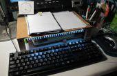 Faible coût pupitre avec clavier d'éclairage LED