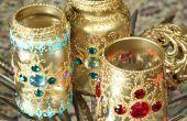 Lanternes de Bejeweled Jar