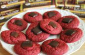 Cookies de velours rouge