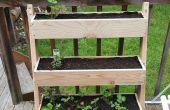 Inclinaison verticale planteur