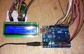 DS1302 + 1602 LCD horloge