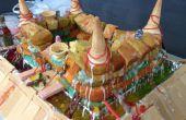 Gâteau Château (détruire vos aliments et manger)