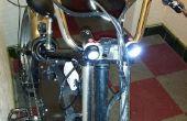 USB alimenté par système d'éclairage Frontal vélo