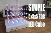 Faire votre propre SIMPLE 5 x 5 x 5 RGB LED Cube