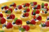 Gâteau au fromage des tartes aux fruits