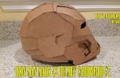 #7 1/3 iron Man Mark 42 casque carton - Abdellah DIY - Comment à