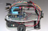 Robot suiveur de ligne axée sur l'Arduino à l'aide du capteur de ligne Pololu QTR-8RC
