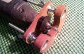 Précision en bois mini embase de la défonceuse pour outil rotatif (avec le prototype en carton)