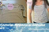 Recyclage vêtements : Remodeler économe Shirt