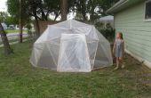 UN ÉCHEC!!! Recyclé dôme géodésique serre