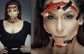 Kim Kardashian filmée de Face - SFX maquillage Tutorial