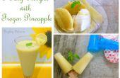 3 façons d'utiliser l'ananas congelé
