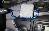 Comment faire une voiture universal dock pour votre téléphone, GPS, ou lecteur MP3.