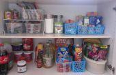 Comment organiser votre garde-manger de la cuisine.