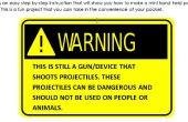 Pistolet de poche Spud