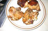 Hickory fumé cuisses de poulet
