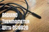 Thermomètre d'Arduino DIY avec DS18B20