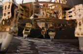 Geoweaver : Une marche hexapode imprimante 3D