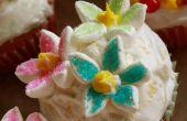 Floraison citron gingembre Cupcakes à la menthe