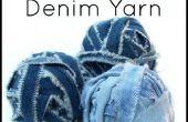 Comment faire Denim filé de vieux Jeans