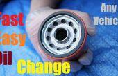 Comment changer votre huile & facile rapide