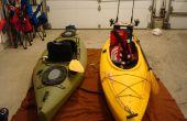 Gréement un évier (assis-in-kayak) pour la pêche