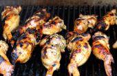 Désossée farcie d'ailes de poulet épicées