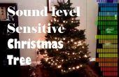 Ambient arbre de Noël sensible niveau sonore