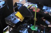 Comment faire une lampe fleur de vinyle.