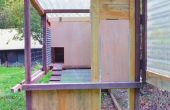 Simple automatique Chicken Coop porte