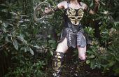 Costume princesse guerrière Xena bricolage