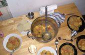 Un ragoût de boulette Pot légumes