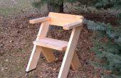 Une chaise pour les grands espaces