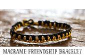 Bracelet d'amitié macramé (tutoriel)