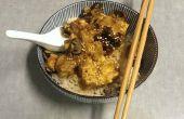 Mijotés Teriyaki gaufre Tofu