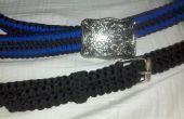 Cobra double noeud Paracord ceinture