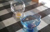 Tasses de bouteilles en plastique