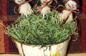 Artisanat d'automne : Scarecrow sucettes