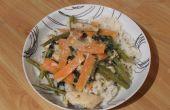 Curry de poulet thaï vert