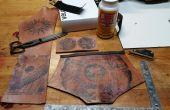 Torins Tutoriels : Transfert d'encre Steampunk en cuir